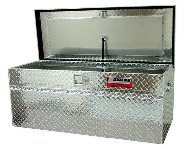 "Owens - Owens 44012 Garrison Marine Dock-Boxes 60"" Silver Tool Box"