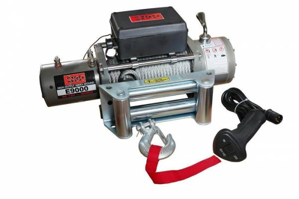 ENGO Winch - ENGO 77-09000 E9000 9,000 lb 12 Volt Electric Winch