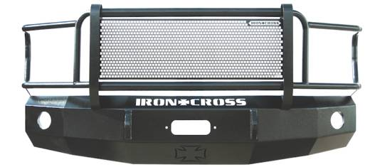 Iron Cross - Iron Cross 24-615-94 Front Bumper with Full Grille Guard Dodge Ram 2500/3500 1994-2002