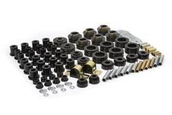 "Daystar - Daystar KG09016BK Super Kit Master Polyurethane Set 1 1/2"" Rear Frame Shackle & 1 1/4"" Sway Bar 1981-1987 Chevy/GMC C10 1/2 Ton 2WD"