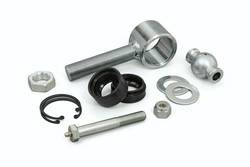 """Daystar - Daystar KU70078BK 2.5"""" Poly Flex Joint with 1"""" Threaded Rod End Includes Outer Sleeve CNC Ball Polyurethane Bushings Greaseable Bolt & Hardware All Years-All Years Universal Universal"""