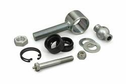 """Daystar - Daystar KU70079BK 2.0"""" Poly Flex Joint with 1"""" Threaded Rod End Includes Outer Sleeve CNC Ball Polyurethane Bushings Greaseable Bolt & Hardware All Years-All Years Universal Universal"""