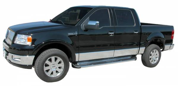 Luverne - Luverne 480423 Stainless Steel Running Boards Ford F150 Super Crew 2004-2008