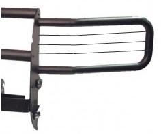 GO Industries - Go Industries 26735B Black Headlight Brush Guard Attachment (Fits Chevrolet Silverado 1500 2007-2011 Part #: 33735B)
