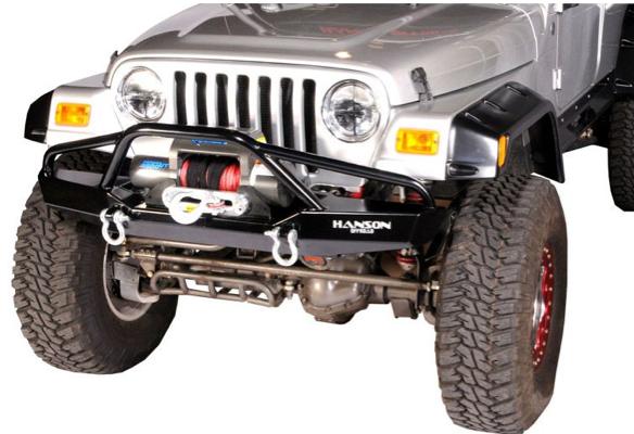 "Hanson Offroad - Hanson Offroad JR61302-P Jeep 60"" Fenderbar Front Bumper"