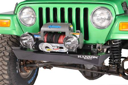 "Hanson Offroad - Hanson Offroad RC41102-P Jeep 42"" Rockcrawler Front Bumper"