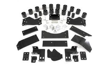 "Performance Accessories - Performance Accessories 60023 3"" Body Lift Dodge Pickup Rear Bumper Brackets For 3"" Lift 1994-2000"
