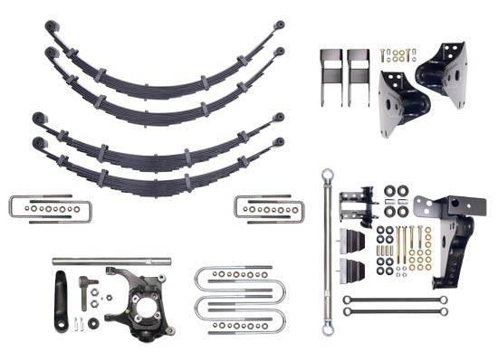 """Icon Vehicle Dynamics - Icon 31000-99 2000-2004 Ford Super Duty 10.5"""" Lift Suspension System"""