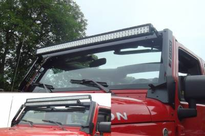 ENGO Winch - ENGO 64-00001 Light Bar Multi-Mount Jeep Wrangler JK 2007-2013