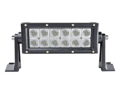 "Light Bars - ENGO Light Bars - ENGO Winch - ENGO EN-QL-1336 6"" EN-Series 36W LED Light Bar White and Multi-Color"