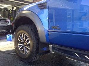 Shop Truck Mud Flaps - Ford 150 Raptor