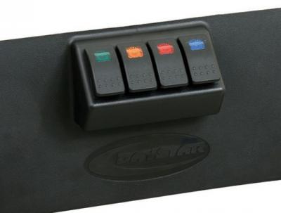MDF Interior Accessories - Dash Panels - Daystar - Daystar KJ71040BK Lower switch panel 2007-2013 Jeep JK Wrangler