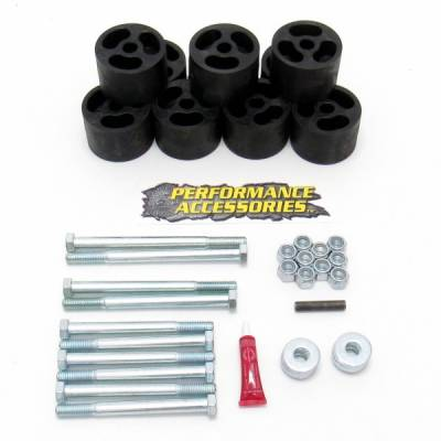 "Body Lifts - Chevy - Performance Accessories - Performance Accessories 502 2"" Body Lift Chevy Blazer/Gmc Jimmy  1973-1991"