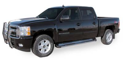 Side Entry Steps - GMC - Luverne - Luverne 481143/581143 Stainless Steel Running Boards Chevy/GMC 2500HD/3500 Crew Cab 2001-2014