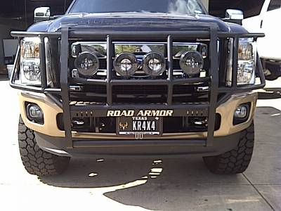 Bumpers - Road Armor Bumpers - Road Armor - Road Armor 611BRSH Brush Guard Ford F250/F350 2011-2016