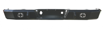 MDF Exterior Accessories - Bumpers - Iron Cross - Iron Cross 21-215-97 Rear Bumper Jeep Wrangler 1997-2006