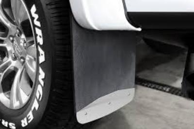 "Shop Truck Mud Flaps - GMC Sierra 2500/3500 - Luverne - Luverne 251544 Dually Mud Flaps GMC Sierra Dually 3500 2015-2016 20"" x 23"" Rear"