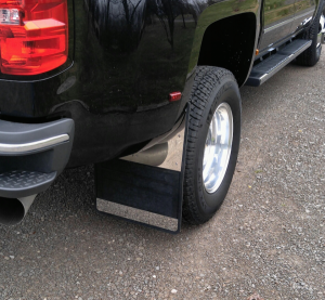 Shop Dually Mud Flaps - Chevy Silverado 3500 - Chevy Silveardo 3500 2015-2019