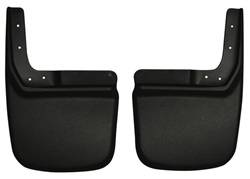 Mud Flaps by Vehicle - Jeep Mud Flaps - Husky Liners - Husky Liners 57141 Rear Molded Mud Guards Jeep Wrangler JK 2007-2018