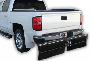 Mud Flaps for Trucks - Towtector Brush System - New Adjustable Towtector