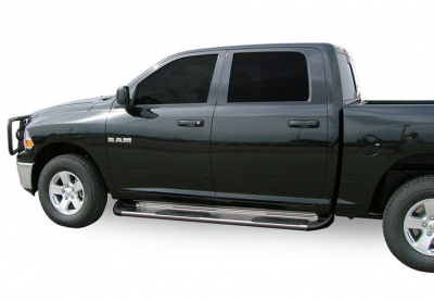Side Entry Steps - Dodge - Luverne - Luverne 481033/571032 Stainless Steel Running Boards Dodge Ram 2500/3500 2010-2015 Crew Cab