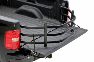 AMP Research Bed Xtender HD - Ford - AMP Research - AMP Research 74814-01A Black Bed Extender Ford F250 1999-2016