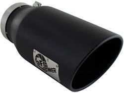 Exhaust Pipes and Tail Pipes - Exhaust Tail Pipe Tip - aFe Power - aFe Power 49-92027-B MACH Force-Xp Exhaust Tip