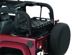 Roll Bar and Accessories - Roll Bar Carrier Bracket - Bestop - Bestop 41437-01 HighRock 4x4 Lower Cargo Rack Bracket