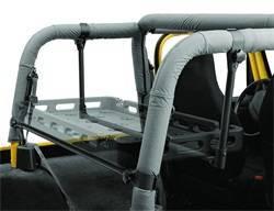 Roll Bar and Accessories - Roll Bar Carrier Bracket - Bestop - Bestop 41406-01 HighRock 4x4 Lower Cargo Rack Bracket