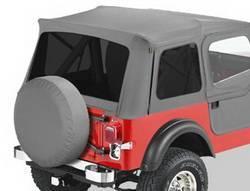 Replacement Top - Window Kit -Side/Rear - Bestop - Bestop 58599-09 Tinted Window Kit