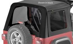 Replacement Top - Window Kit -Side/Rear - Bestop - Bestop 58699-35 Tinted Window Kit