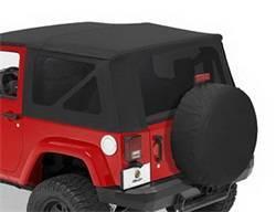 Replacement Top - Window Kit -Side/Rear - Bestop - Bestop 58129-35 Tinted Window Kit