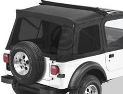 Replacement Top - Window Kit -Side/Rear - Bestop - Bestop 58698-01 Tinted Window Kit