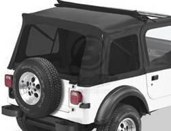 Replacement Top - Window Kit -Side/Rear - Bestop - Bestop 58698-01 Tinted Window Kit