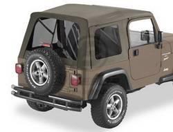 Replacement Top - Window Kit -Side/Rear - Bestop - Bestop 58709-36 Tinted Window Kit