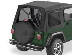 Replacement Top - Window Kit -Side/Rear - Bestop - Bestop 58709-37 Tinted Window Kit