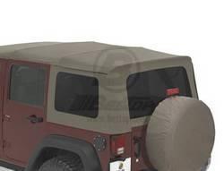 Replacement Top - Window Kit -Side/Rear - Bestop - Bestop 58130-36 Tinted Window Kit