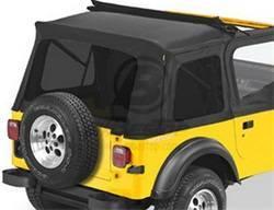Replacement Top - Window Kit -Side/Rear - Bestop - Bestop 58698-15 Tinted Window Kit