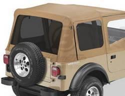 Replacement Top - Window Kit -Side/Rear - Bestop - Bestop 58120-37 Tinted Window Kit