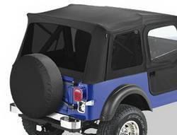 Replacement Top - Window Kit -Side/Rear - Bestop - Bestop 58599-01 Tinted Window Kit