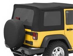 Replacement Top - Window Kit -Side/Rear - Bestop - Bestop 58130-35 Tinted Window Kit