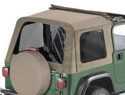 Replacement Top - Window Kit -Side/Rear - Bestop - Bestop 58699-33 Tinted Window Kit