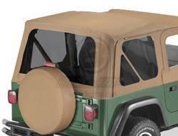 Replacement Top - Window Kit -Side/Rear - Bestop - Bestop 58121-37 Tinted Window Kit