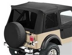 Replacement Top - Window Kit -Side/Rear - Bestop - Bestop 58599-15 Tinted Window Kit