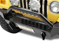 Bumper - Bumper- Front - Bestop - Bestop 42901-01 HighRock 4x4 Full Width Front Bumper