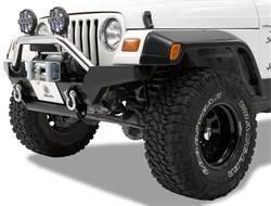 Bumper - Bumper- Front - Bestop - Bestop 42917-01 HighRock 4x4 High Access Front Bumper