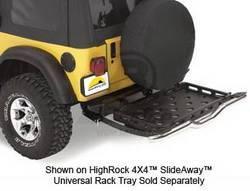 Bumper - Bumper Accessories - Bestop - Bestop 42907-01 HighRock 4x4 SlideawayTray Bracket