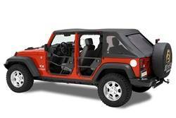 Door - Door - Bestop - Bestop 51810-01 HighRock 4x4 Element Soft Doors