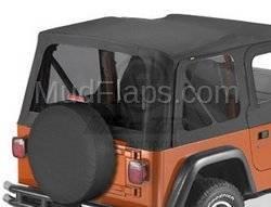 Replacement Top - Window Kit -Side/Rear - Bestop - Bestop 58122-35 Premium Tinted Window Kit