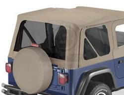 Replacement Top - Window Kit -Side/Rear - Bestop - Bestop 58122-33 Premium Tinted Window Kit